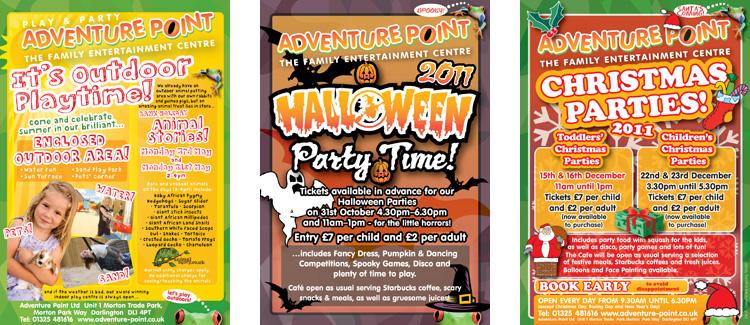 Adventure Point Leaflets 1