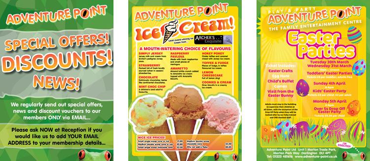Adventure Point Leaflets 2