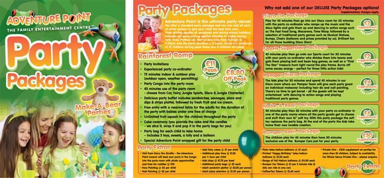 Adventure Point Parties
