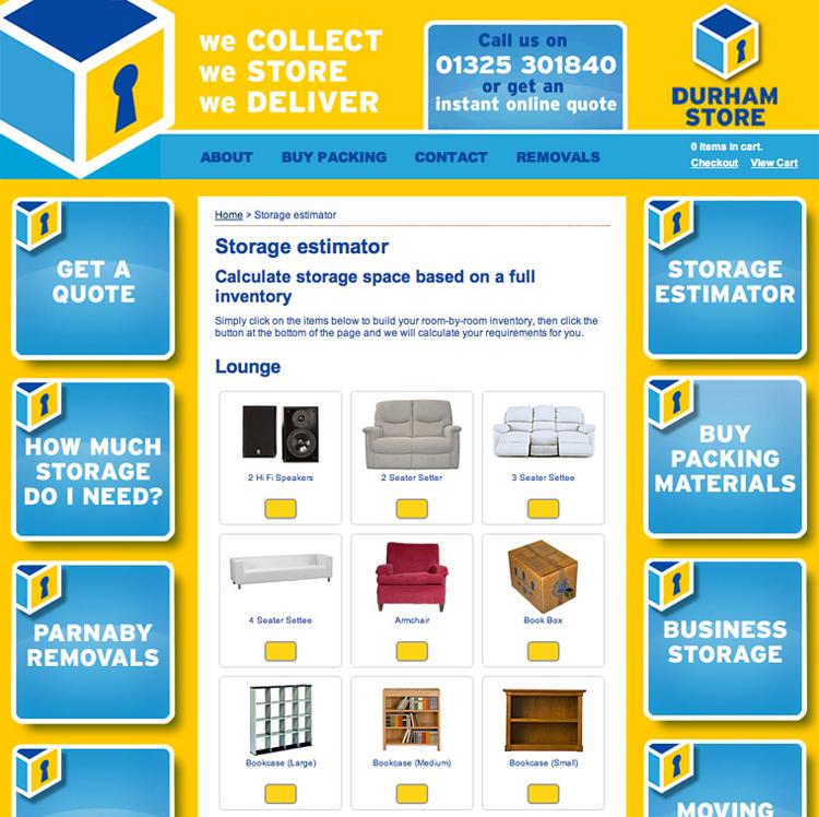 Durham Store Website