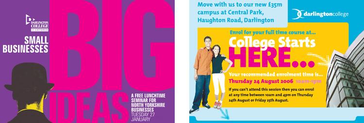 Darlington-College-leaflets
