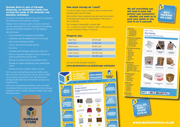 Durham Store Leaflet inner
